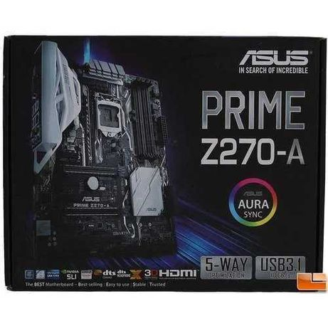 motherboard asus z270-a 1151