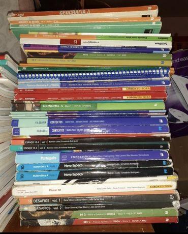 Novo espaco 10/Planeta Com vida/Economia A - varios livros 10 ano