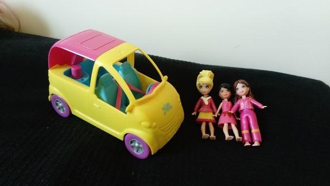 Laleczki Polly z samochodem + drugi samochód GRATIS!!!