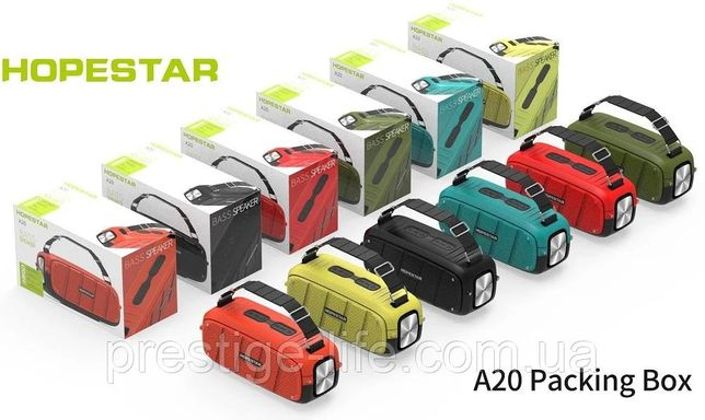 Супер мощная портативная колонка Hopestar A20 (55 Вт). Оригинал