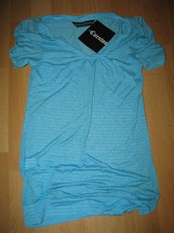 Cuentos de Barcelona - koszulka letnia jasnoniebieska w rozmiarze L