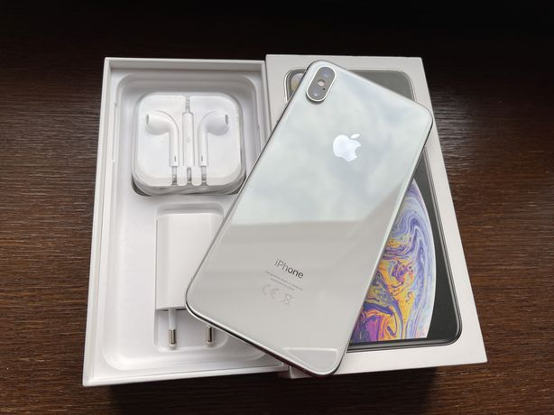 Iphone XS Max, 256 GB, Silver, Neverlock