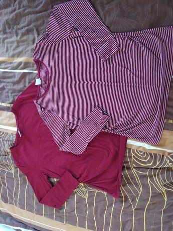 Dwie nowe bluzki ciążowe rozmiar L