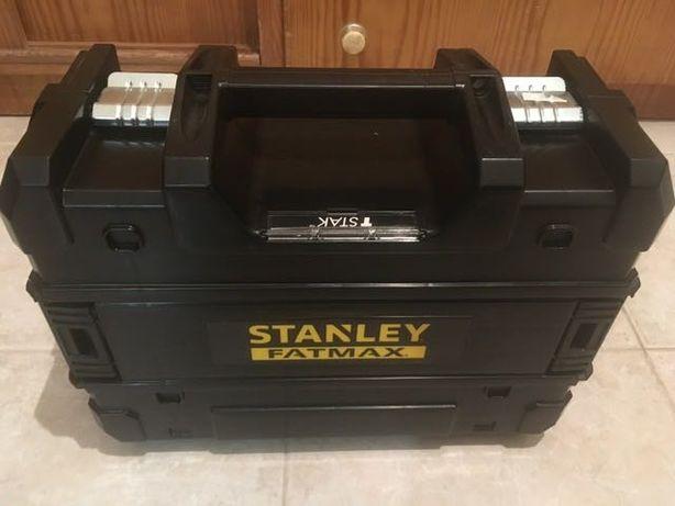 Nível de Laser de linha verde em cruz e 2pontos Stanley Fatmax