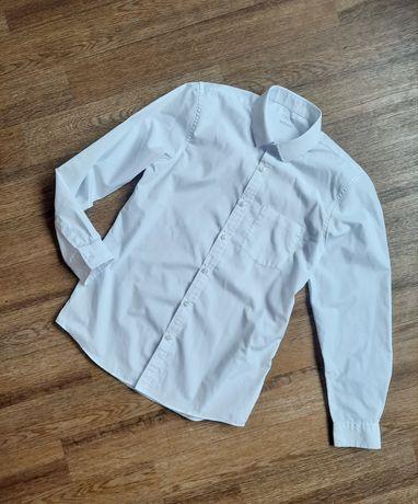 Next белая рубашка для мальчика подростка сорочка біла