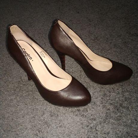 Туфлі жіночі шкіряні розмір 38,5