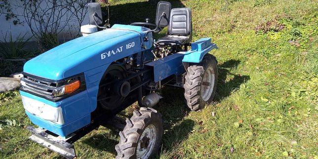 Мото трактор Булат.