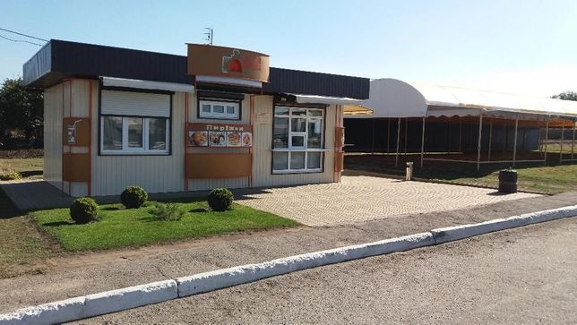 Продам бизнес на трассе Днепр-Запорожье с фасадным участком