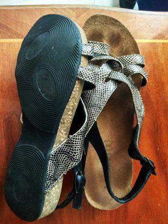 Sandały damskie skorzane