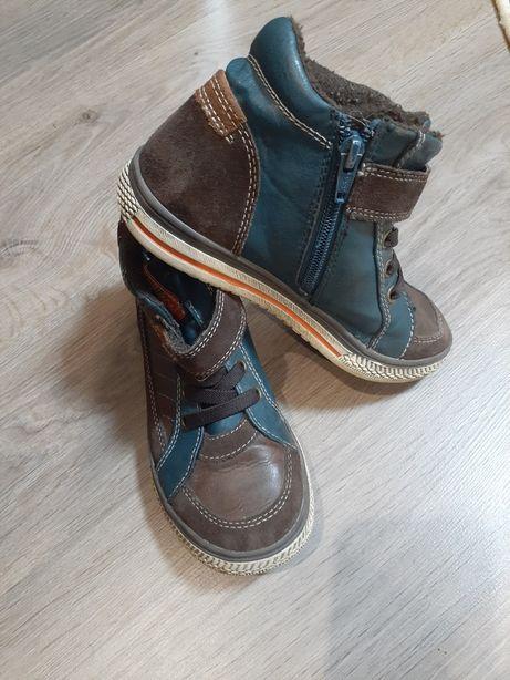 Кожанные деми ботинки