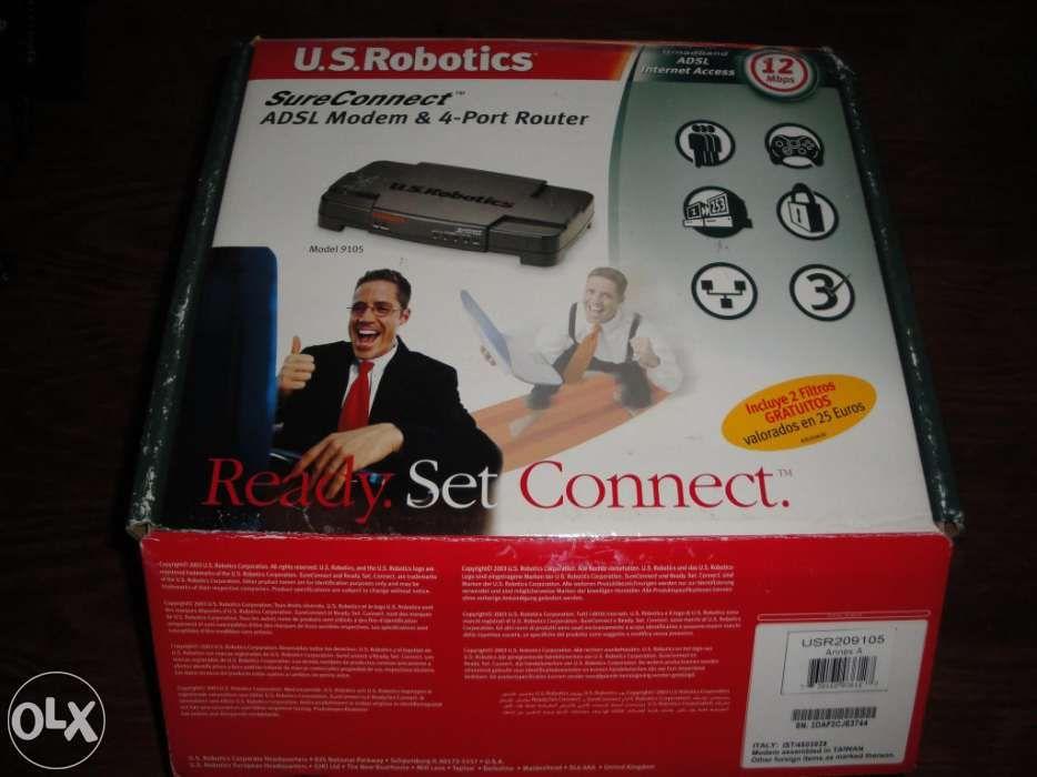Router USRobotics 9105 ADSL2 Vila Flor E Nabo - imagem 1