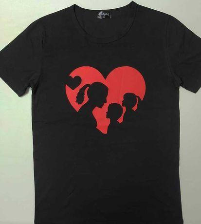 Personalização de T-shirt/sweats