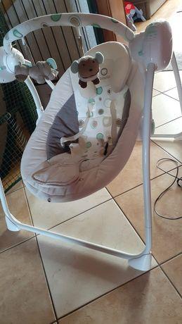 Huśtawka elektroniczna, bujak, dla małych dzieci - zamiast bujania