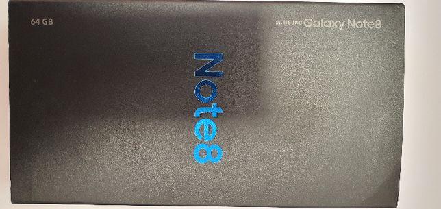 Note 8 Czarny + 3szt. etui