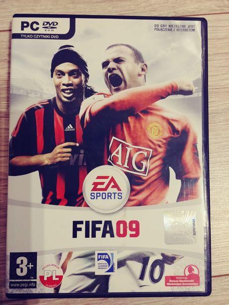 Gra FIFA 09 pc używana
