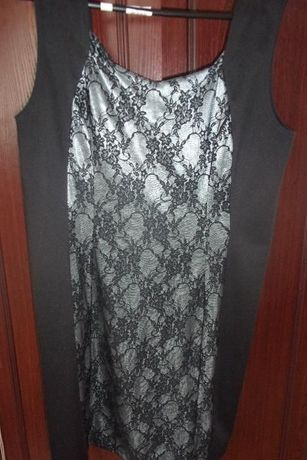 Koronkowa sukienka roz 46