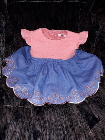 Sukienka Ladybird r. 0-3 M