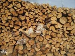 Sezonowane drewno kominkowe opałowe - UKŁADANE METRY