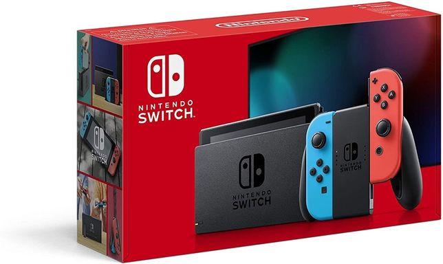 Приставка Nintendo Switch V2  Red-Blue New