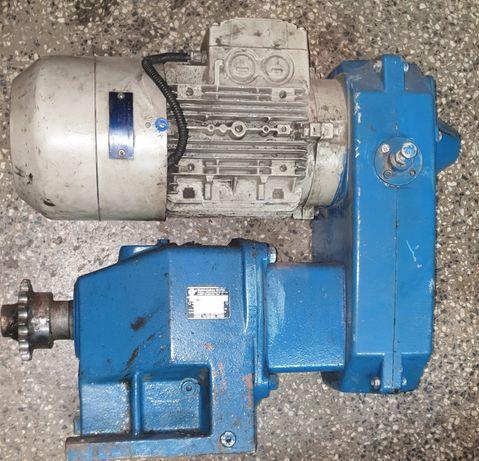 Przekladnia prosta z regulacją obrotów 17-40, silnik 2,2kw z hamulcem