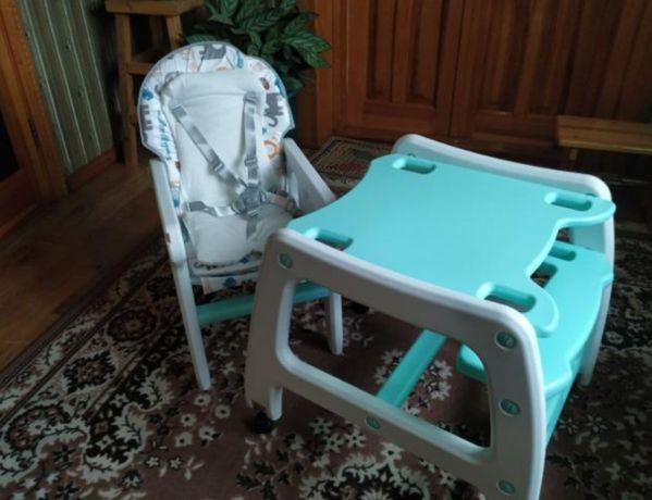 Столик со стульчиком с матрасом Столик новый