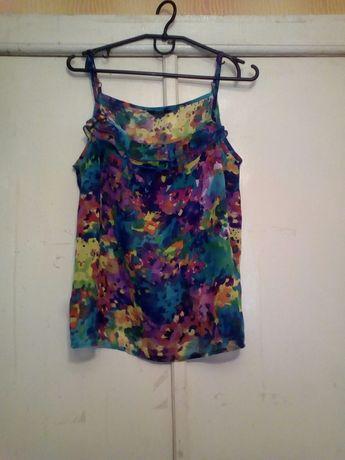 Яркая блуза, летняя майка, цветная блузка.