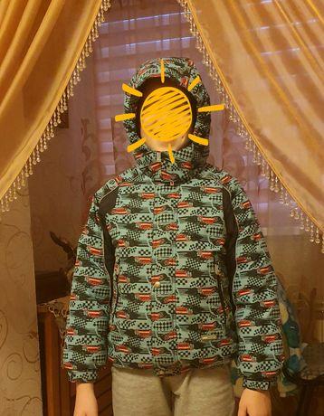 Зимняя куртка LENNE 128+6 см на мальчика