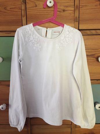 Bluzeczka biala r.146 na 11 lat