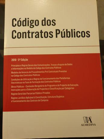 Livro Código dos Contratos Públicos