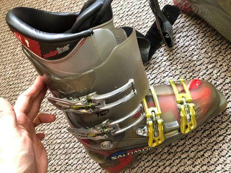 Гірськолижні черевики Salomon Falcon 10, розмір 26,5. Жорсткість 110.