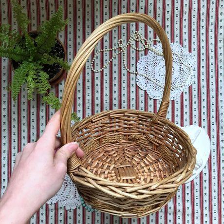 Плетеная корзина корзинка