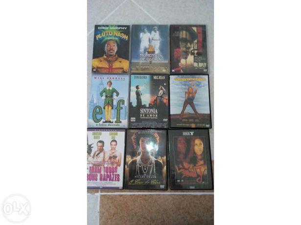 Conjunto de filmes em DVD