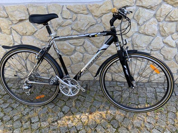 Rower Leader Fox - koła 28 - rozmiar 54 - jak nowy, turystyczny/cross