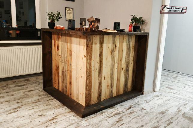 Lada drewniana w stylu rustykalnym/ indriustralnym/ vintage/ opalana