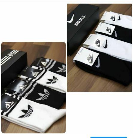 комплект носков nike adidas на подарок и для себя