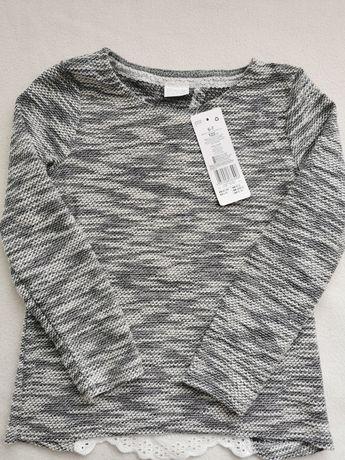 Sweterek F&F Zara srebrna nitka haft R. 122