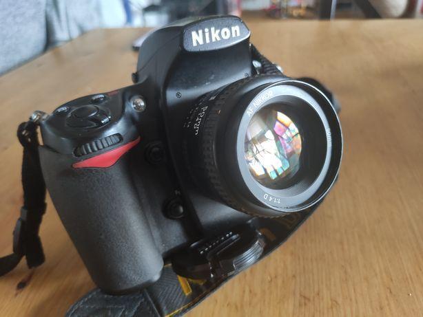 Aparat Nikon d700 + obiektyw nikkor 50 1.4. Bardzo niski przebieg
