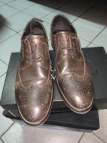 Sapatos castanhos Ruika, 42