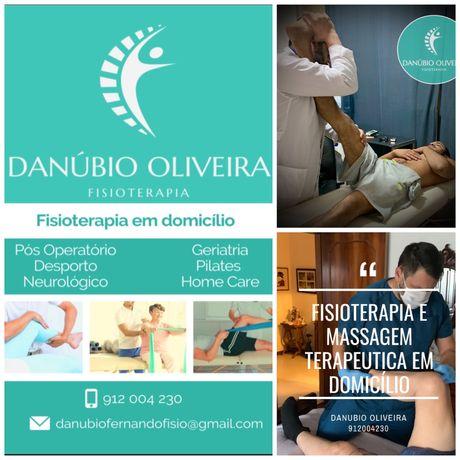 Fisioterapia e massagem em  domicílio