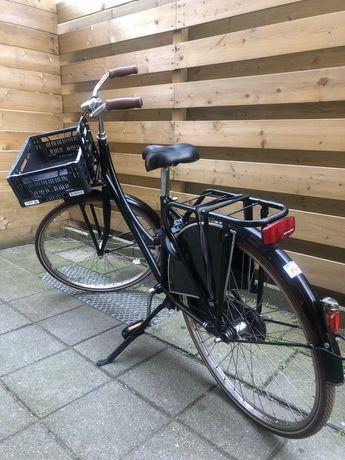 Rower YOUNG DUTCH holenderski rower z kluczykiem x2, koszykiem