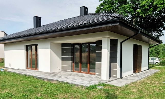 nowoczesny dom parterowy