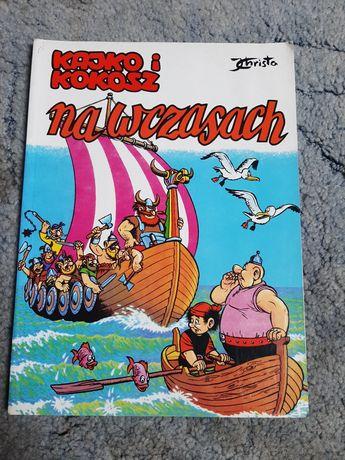 Komiks Kajko i Kokosz na wakacjach Janusz Christa