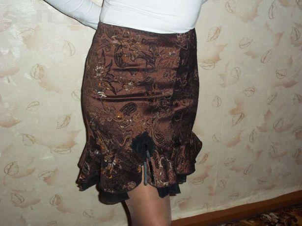 Стильная нарядная юбка. 44-46 р-р