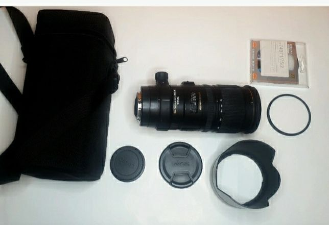 Sigma 70-200mm F2.8 EX APO DG OS Canon
