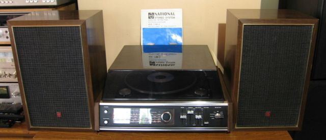 Panasonic SS-8040 Piękny Zestaw Vintage kolumny Instrukcja