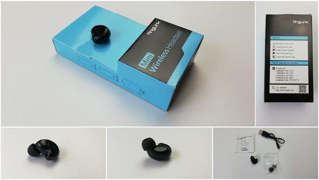 ANGLINK Douszna słuchawka mini Bluetooth Bezprzewodowa