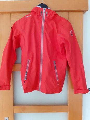kurtka przeciwdeszczowa TRIBORG Decathlon 146-152 kaptur, Zeglarska