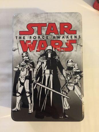 Caixa Metalica Star Wars - Nova