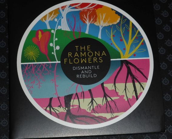 z autografami CD Ramona Flowers - Dismantle & Rebuild CD NOWA unikat
