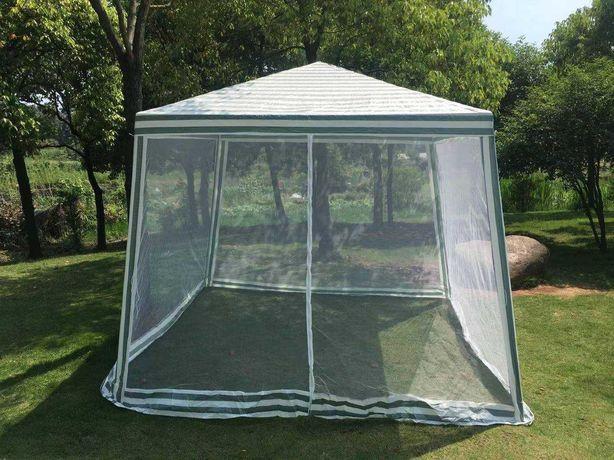 Садовый павильон с москитной сеткой тент 3х3 м